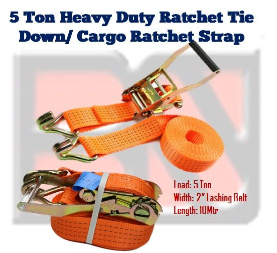 Ratchet Tie Down / Lashing Strap-5tonx10m