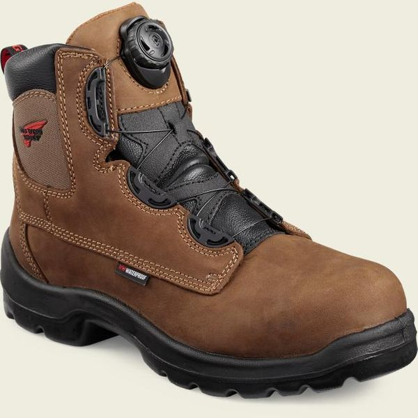 Safety Boots Men's 6-inch Boa