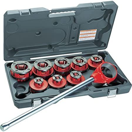 Ridgid 65255 12r 1/2-2 Bspt Threader With Carrying Case