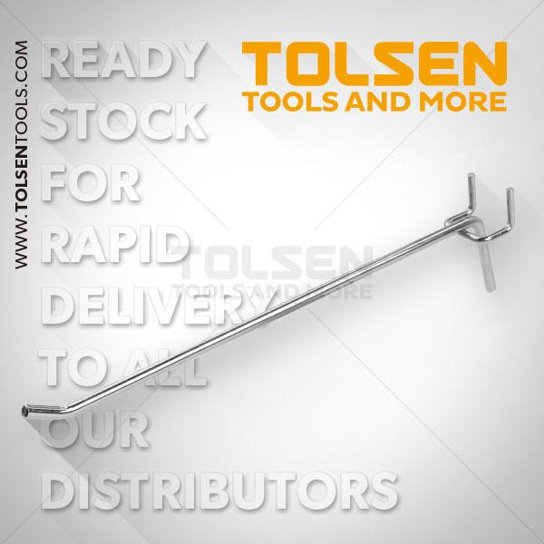 Tolsen Single Long Hooks (50pcs) 83024