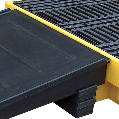 Empteezy Ramp Use With Drum Spill Pallet Bp4fw Black BFR4