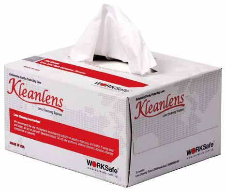Worksafe Kleanlens Cleaning Tissues
