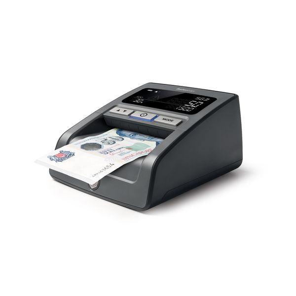 Safescan 185-S - Multi-direction Automatic Counterfeit Detector for 100% Banknote Verification