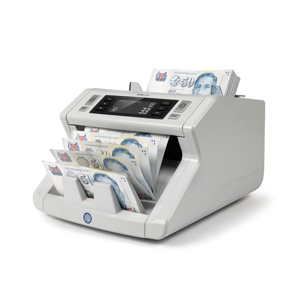 Safescan 2250 - Banknote Counter for Sorted Banknotes With 3-point Counterfeit Detection