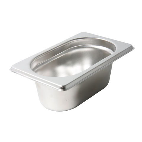 Safico Stainless Steel Food Pan 1/4