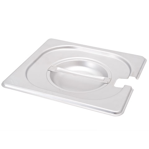 Safico Stainless Steel Gn 1/6 Pan Slotted Lid