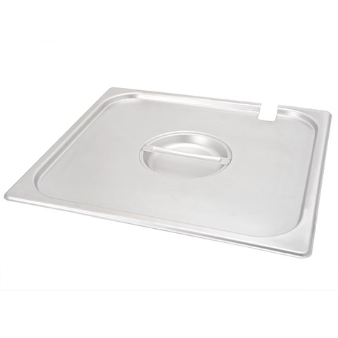 Safico Stainless Steel Gn 2/3 Pan Slotted Lid
