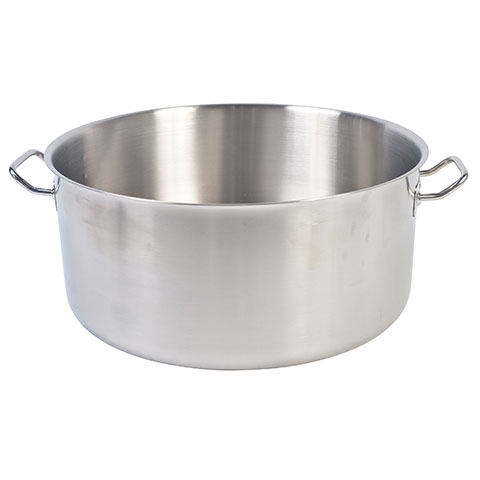 Safico Stainless Steel Low Casserole (without Lid), Cutting Bottom