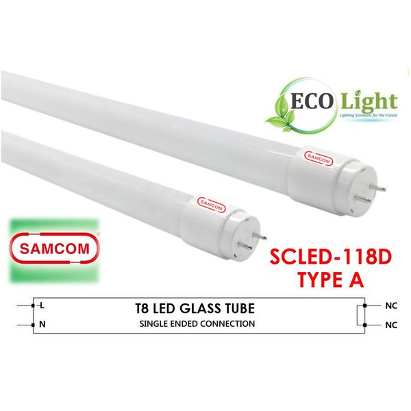 Samcom Electronic -4 Feet T8 Led Tube (day Light 6500k 18w)