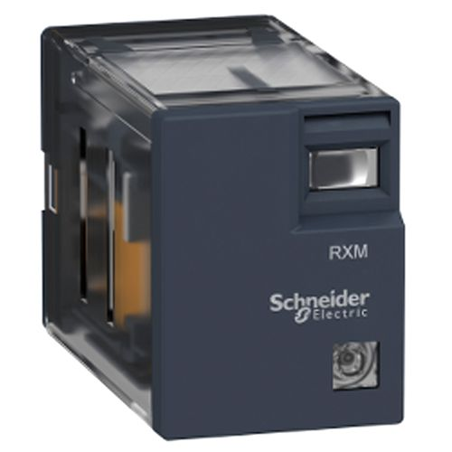 Schneider Electric 4 Pole 230v Ac Miniature Plug-in Relay and Socket
