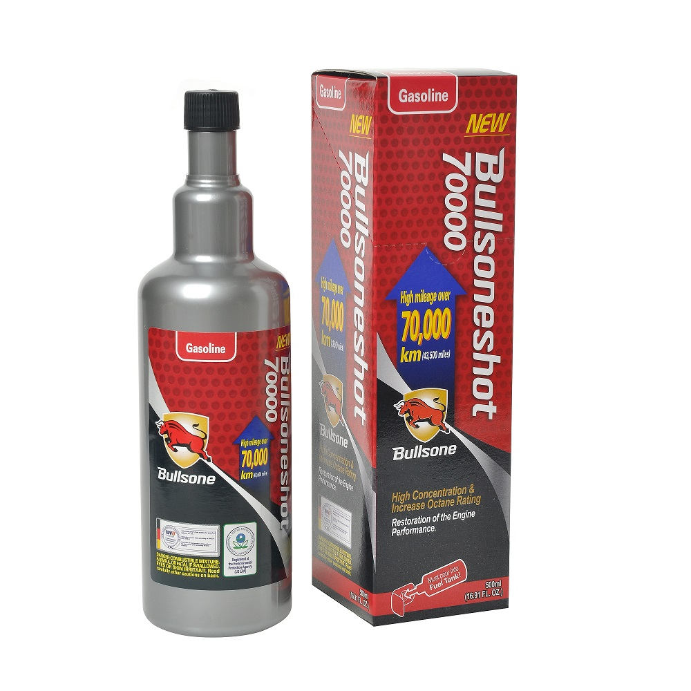 Bullsone Shot 70000 For Gasoline Engine 500ml