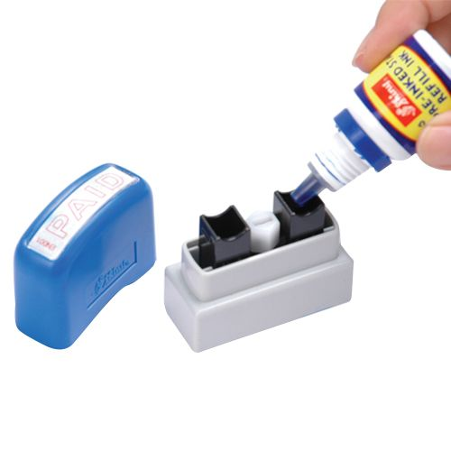 Shiny Pre-inked Stamp Refill Ink 10ml