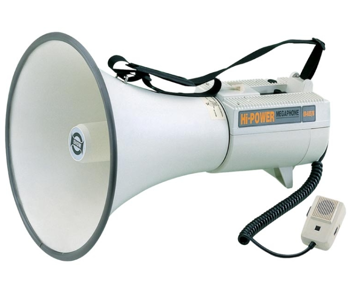 Show ER-68S Max 45w the Biggest Powerful Transistor Megaphone With Siren