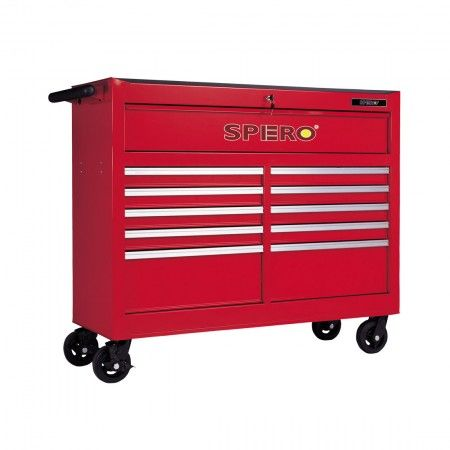 Spero 11 Drawer Tool Trolley 31-9711-1 Red