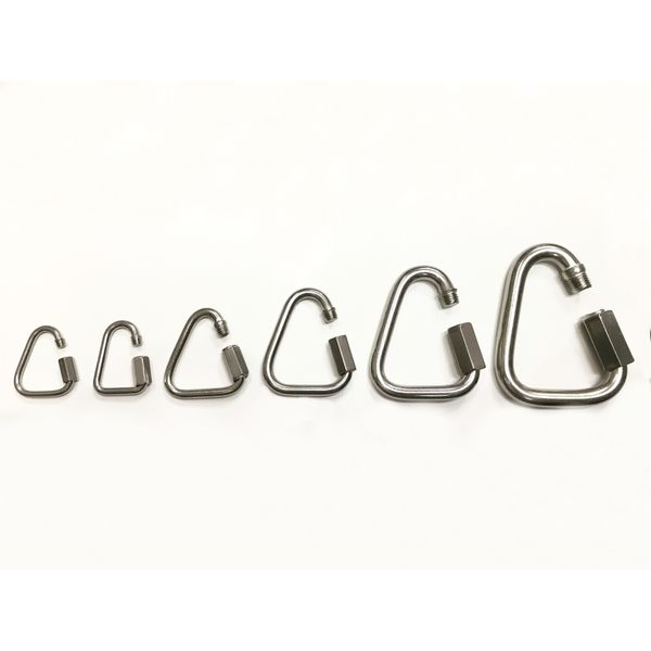 Stainless Steel 304 Quick Link Triangle