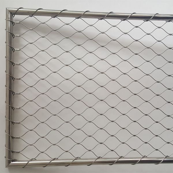 Stainless Steel Cable Net With Frame Singapore - Eezee