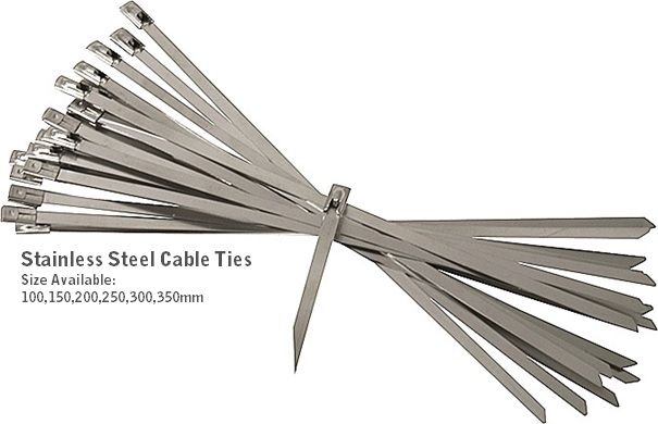 Cable Tie Stainless Steel Ss304 (100pcs Pkt)