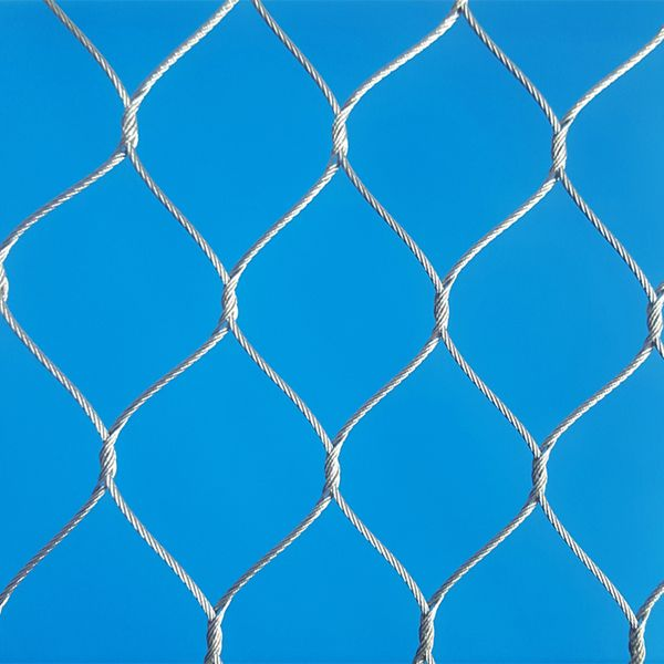 Stainless Steel Hand Woven Cable Mesh
