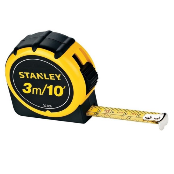 Stanley Tape Rule 3m X 1/2''