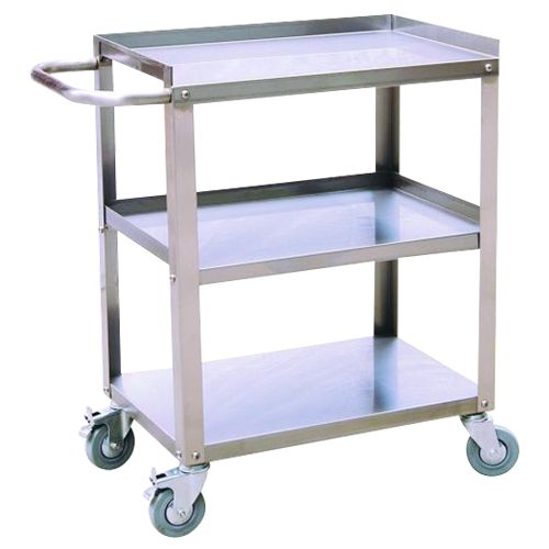 Stocky Stainless Steel Trolley ST3/100A