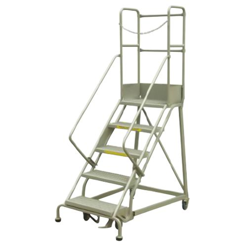 Stocky Steel Platform Step Ladder
