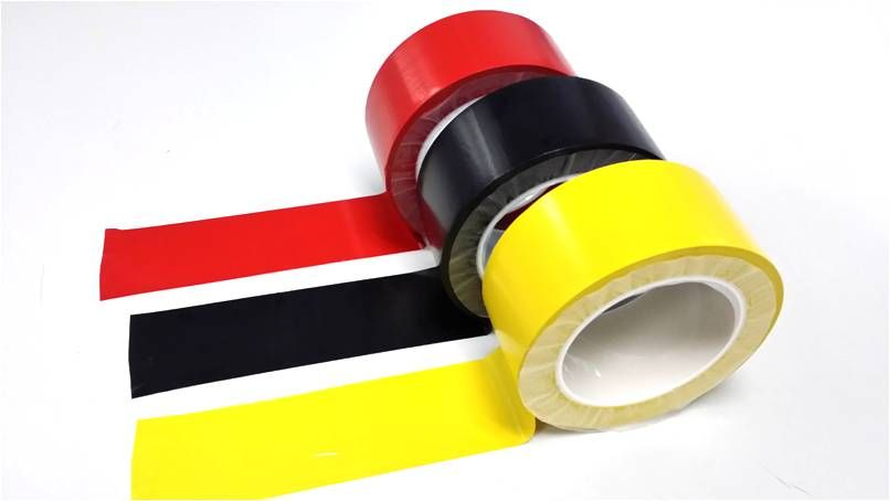 Strong Adhesive Floor Marking Tape 48mm X 33m (yellow, Black, Red, Green, Blue, White, Orange)