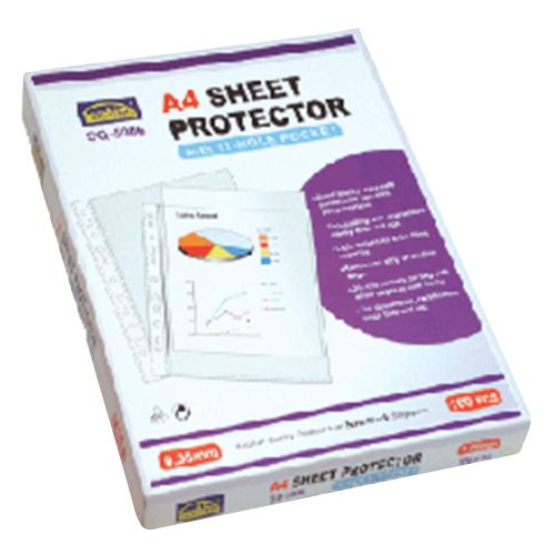 Suremark Sheet Protector A4 0.06mm 100 Pieces/box