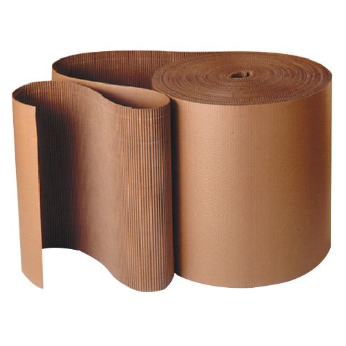 Sy Corrugated Single Face Paper Roll Brown