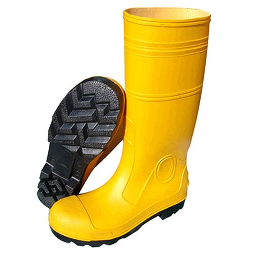 Sy Pvc Safety Boot With Steel Toe Cap