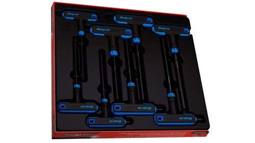 Snap-on T-hndl Sg Mm Hex Wrench Set AWSGM800A