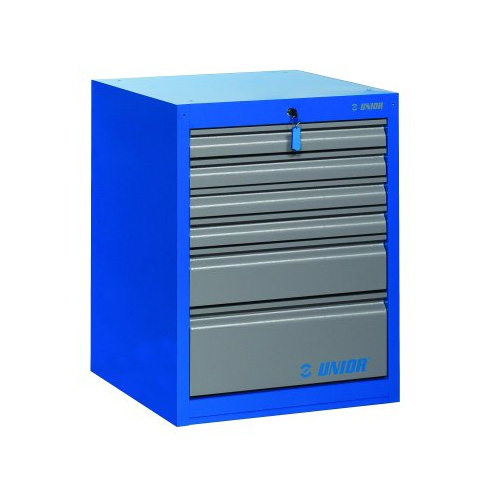 UNIOR Tool chest wide - 6 drawers - 990WD6