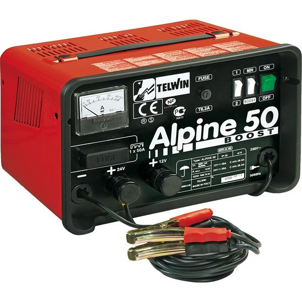 Telwin Battery Charger Alpine 50
