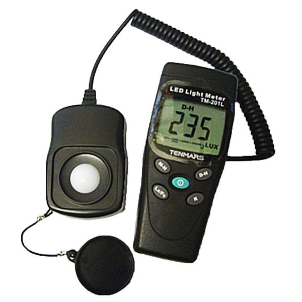 Tenmars TM-201L Led Light Meter up to 200,000 Lux