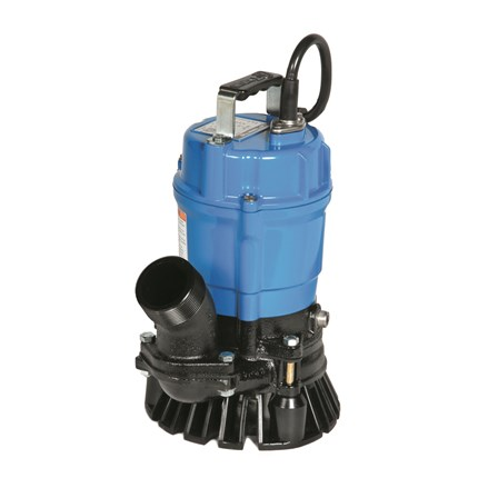 Tsurumi portable dewatering pump (drainage) with discharge hose HS