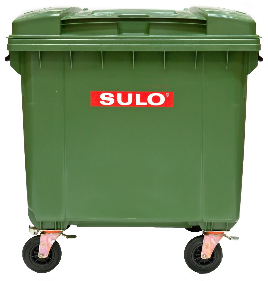 German Made 1,100 Litres Mobile Garbage Bin