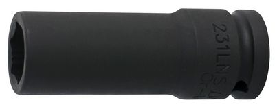 """Unior Impact Socket 1/2"""" With Special Protect Profile, Long Type 231/4lns"""