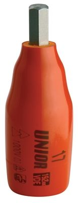 "Unior Insulated Hexagonal Screwdriver Socket 3/8"" 236/2hxvdedp"