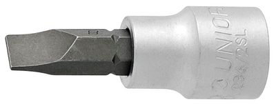 "Unior Slotted Screwdriver Socket 3/8"" 236/2sl"