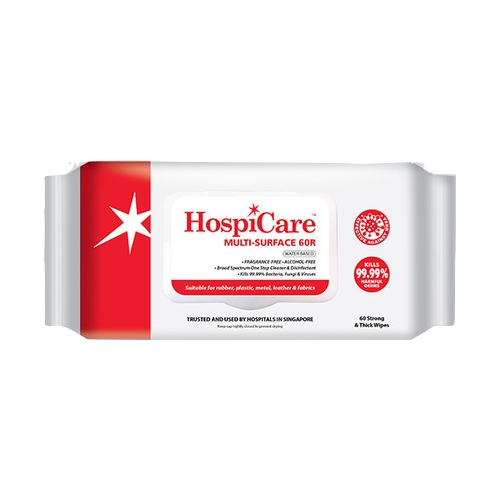 Hospicare Multi-Surface 60R (24 Pack a Carton)