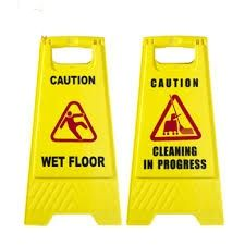 Vistar Pvc Floor Caution Sign