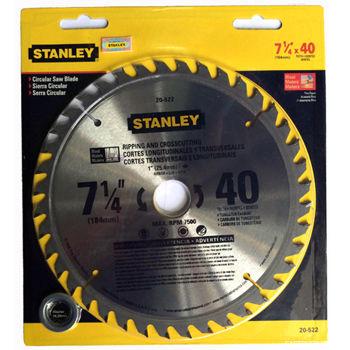 Stanley TCT Saw Blade 20522