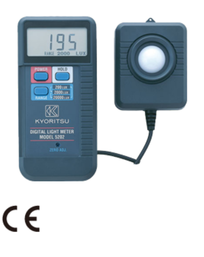 KYORITSU Digital Light Meter 5202