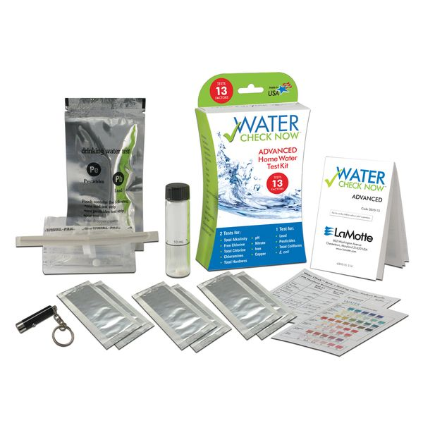 Water Check Now™ Advanced Water Test kit