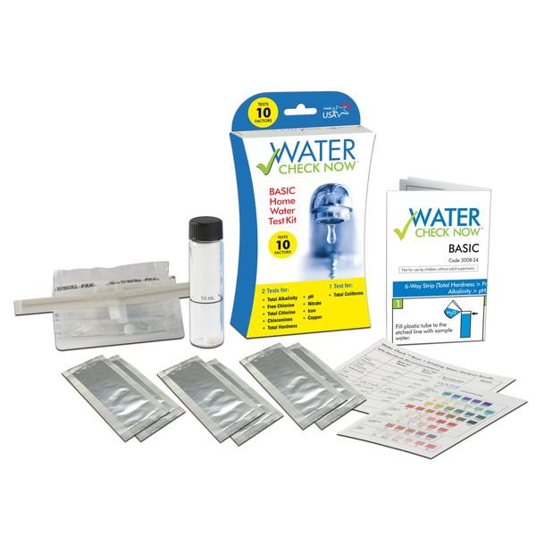 Water Check Now™ Basic Water Test kit