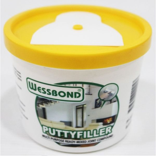Wessbond Putty Filler - White 500g Wb-pf2005 Singapore - Eezee
