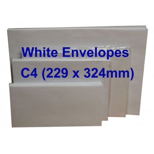 Winpaq Peel & Seal C4 White Envelope 9 X 12.75 Inch