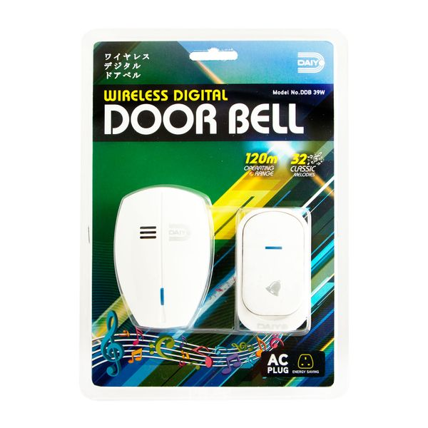 Daiyo Wireless Digital Door Bell (ac) DDB 39W