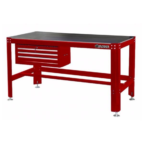 Work Bench With 3-drawer Add-on Chest