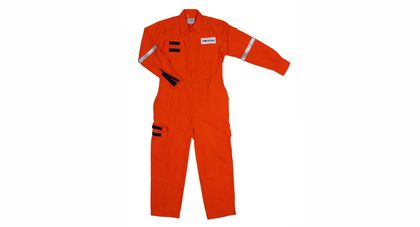 Saesl Worksafe Fr Orange Coverall in Dupont™ Nomex® Iii a 4.5oz Size M