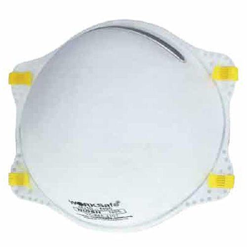 N95 Respirator Size Mask Free Worksafe Disposable - Particulate